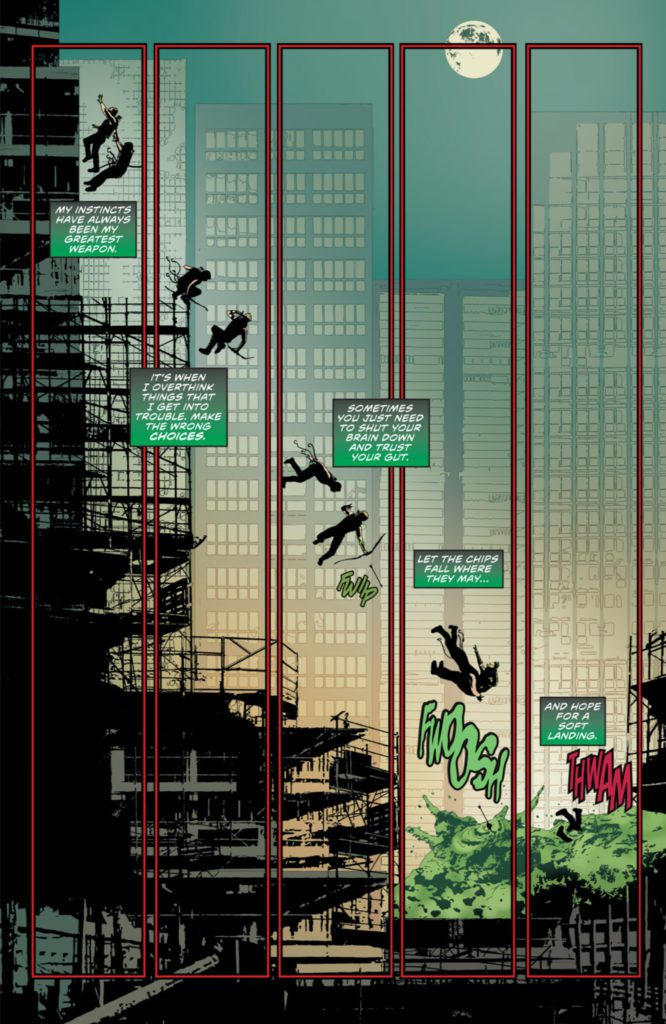 Composition : Green Arrow, Andrea Sorrentino