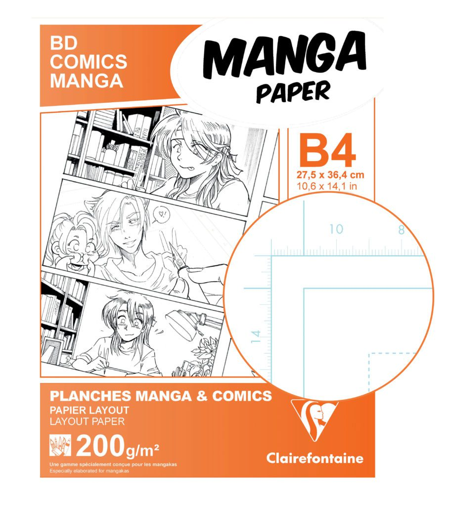 clairefontaine manga paper planches
